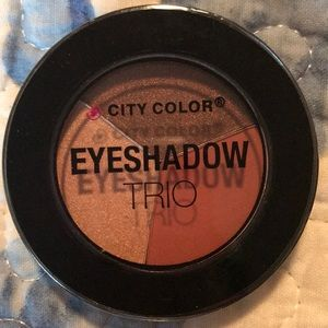 City Color Eyeshadow Trio, Falling Leaves